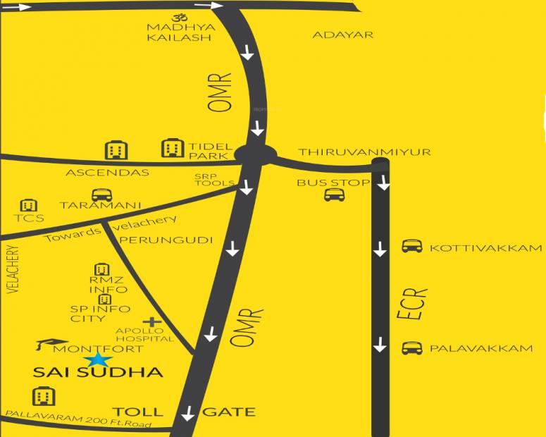 Images for Location Plan of Kriya Sai Sudha