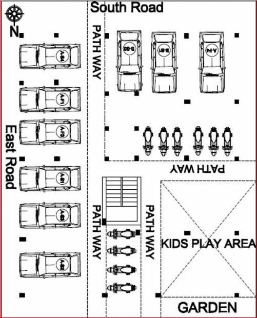 Images for Cluster Plan of Sri Lakshmi Ram Constructions Sri Krishna Palace A