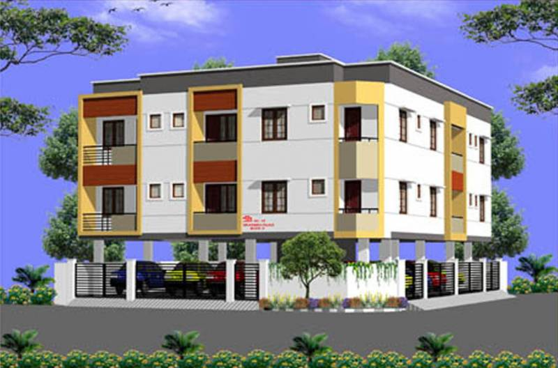 sri-krishna-palace-a Images for Elevation of Sri Lakshmi Ram Constructions Sri Krishna Palace A