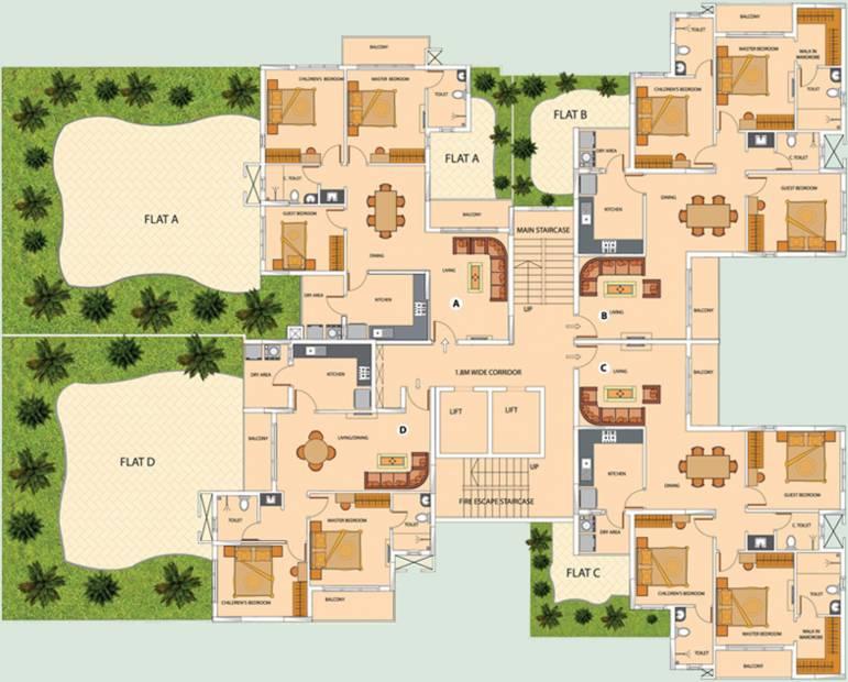 Images for Cluster Plan of Olive Iantha