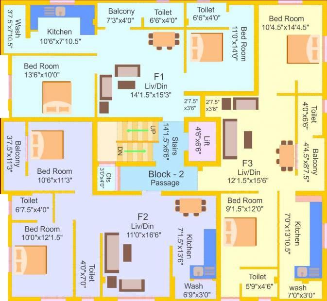 Images for Cluster Plan of EXL Brindavan