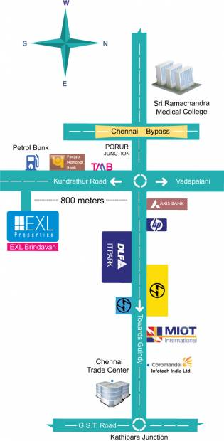 Images for Location Plan of EXL Brindavan