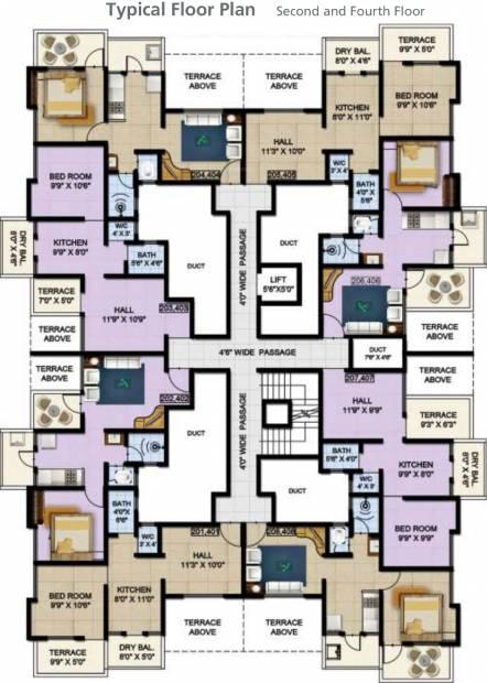 Images for Cluster Plan of Srrinivas Ssky