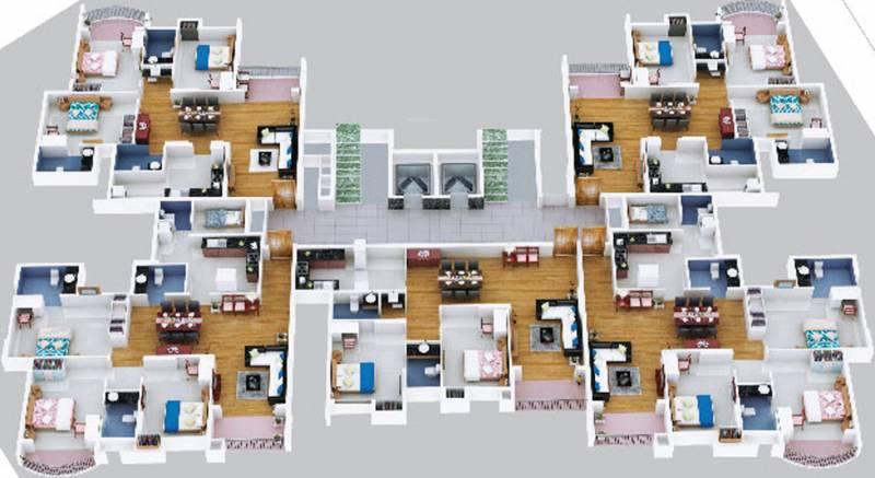 alisha Images for Cluster Plan of Olive Alisha