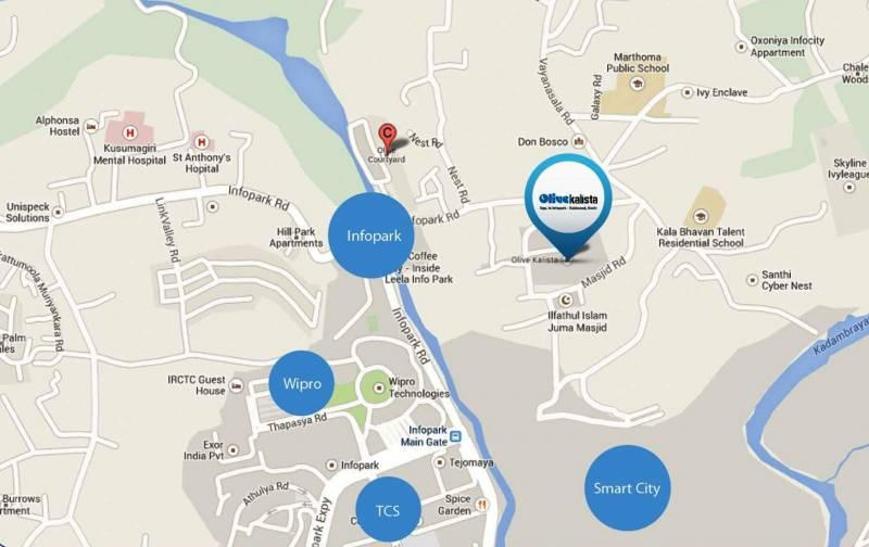 alisha Images for Location Plan of Olive Alisha