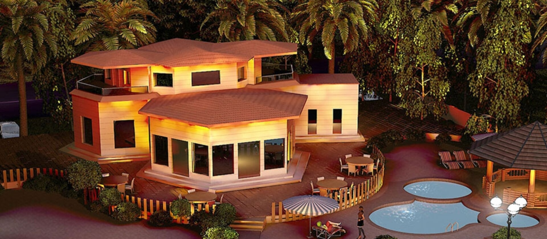 2 bhk 2t villa for sale in ambient the neemrana farms for Ambient house