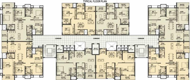 Images for Cluster Plan of Citadel Woodville