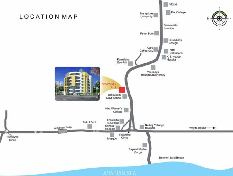 hamco-builders-and-developers atlantis Location Plan