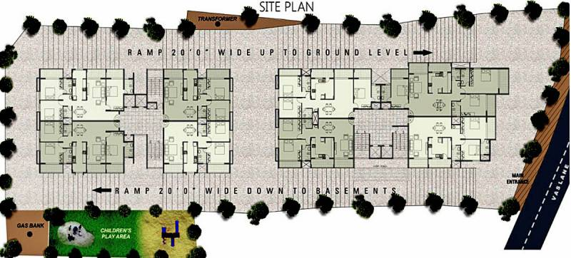 Images for Site Plan of Citadel Developers Jade Apartments