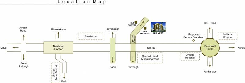 Images for Location Plan of MB Suvarna Builders and Developers Nest