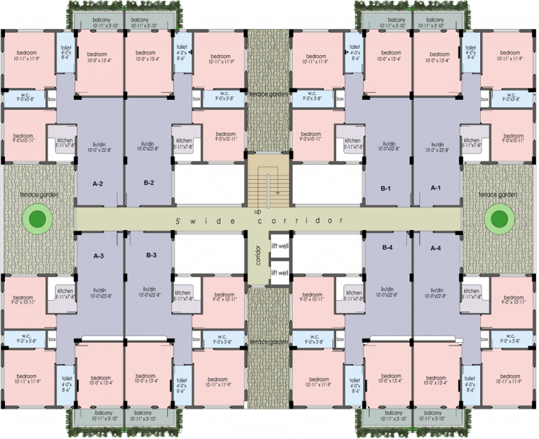 Images for Cluster Plan of Prabhu Orchard