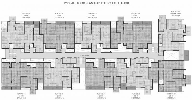 Images for Cluster Plan of SMR Westgate Gardens