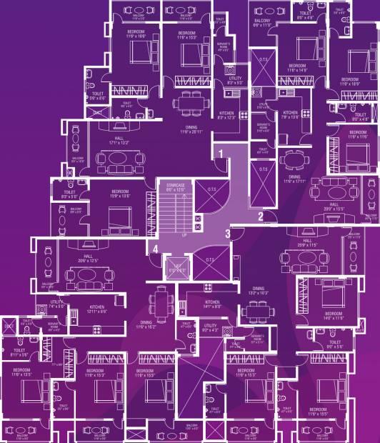 premier-builders royale Royale Cluster Plan