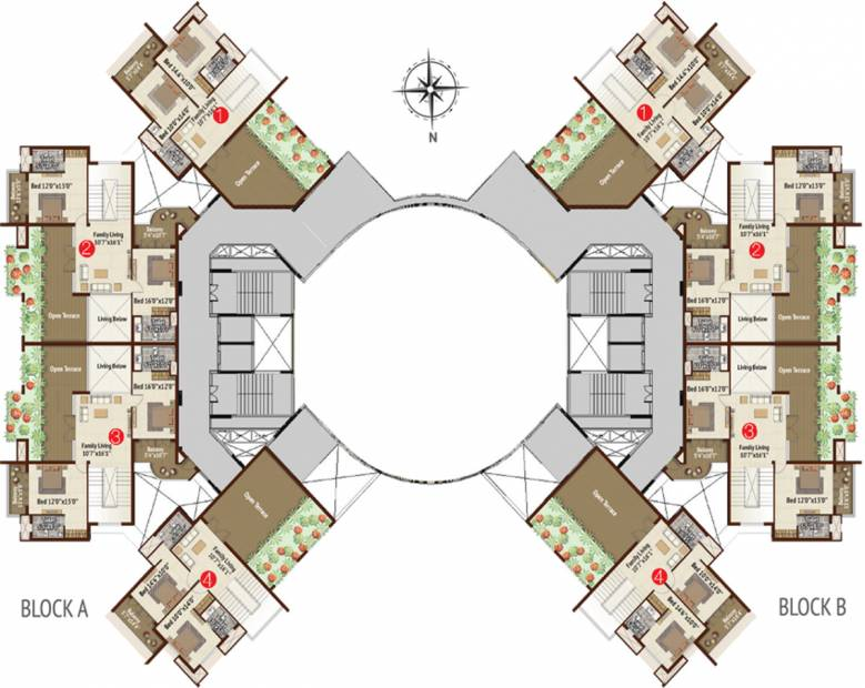 Images for Cluster Plan of BR Property Developers Private Limited Meadows