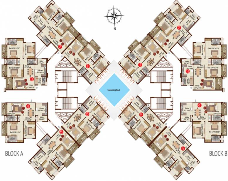 meadows Images for Cluster Plan of BR Property Developers Private Limited Meadows
