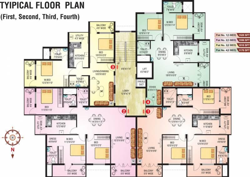 Images for Cluster Plan of SMR Westgate Venezia