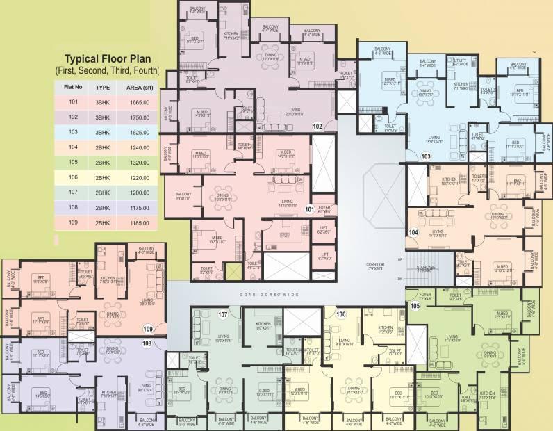 Images for Cluster Plan of Agraja Vivanta