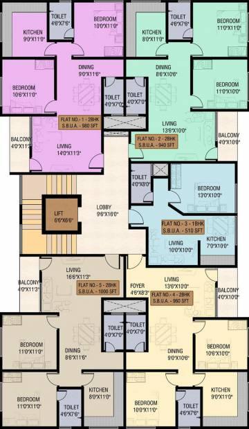 Images for Cluster Plan of Carol Casa Greens