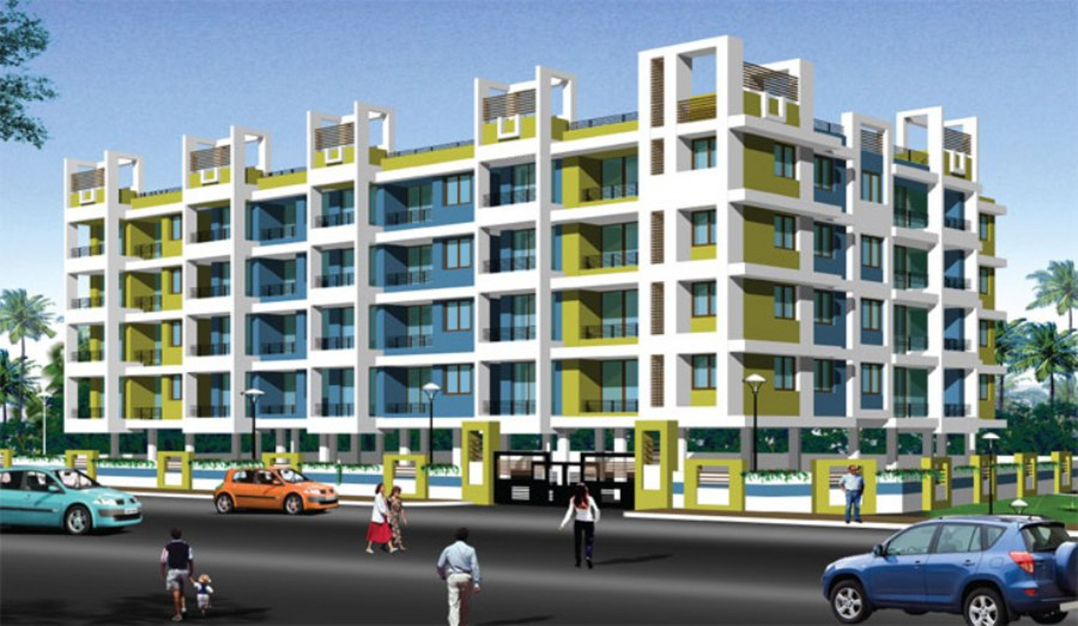1550 sq ft 3 bhk 3t apartment for sale in classic builders for Classic builders