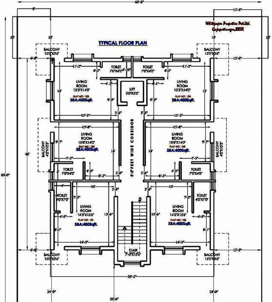 Images for Cluster Plan of Whitepaper Leisure Home