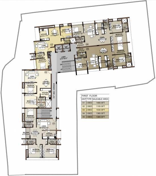Images for Cluster Plan of Citadel Aurum