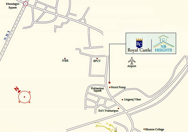 Images for Location Plan of Nilachal NB Heights