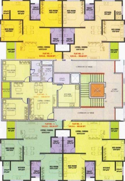 Images for Cluster Plan of Priyadarshini Enclave
