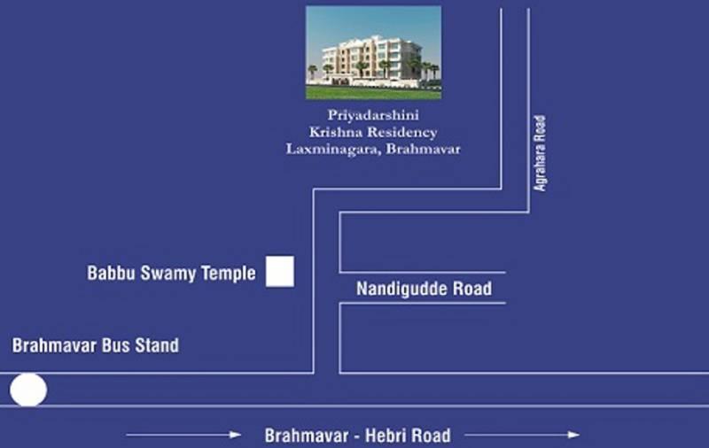 Images for Location Plan of Priyadarshini Krishna Residency