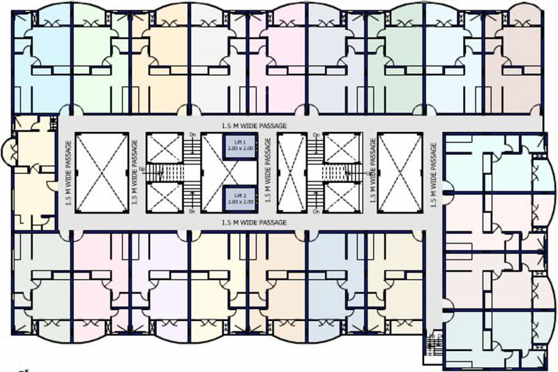 Images for Cluster Plan of Platinum Airport Lounge