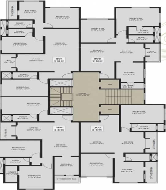 Images for Cluster Plan of SS Pratham Krishna