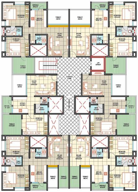 Images for Cluster Plan of Ashapuri The Sacred Basil