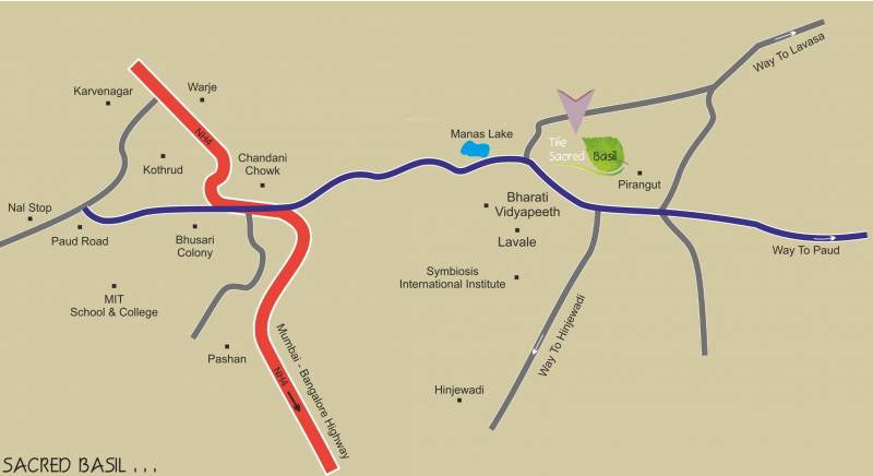 Images for Location Plan of Ashapuri The Sacred Basil