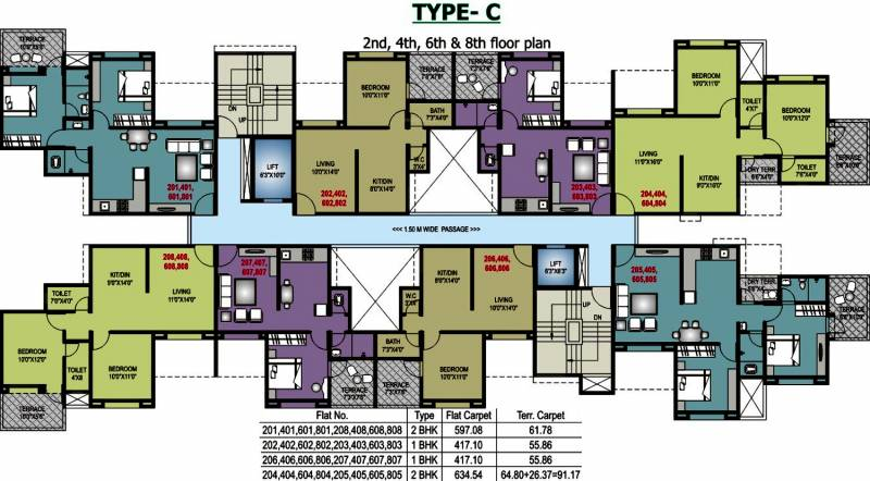 Images for Cluster Plan of RR Riddhi Siddhi Towers