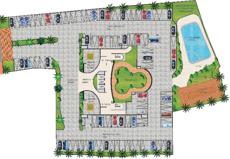 Images for Site Plan of Maharaja The Courtyard