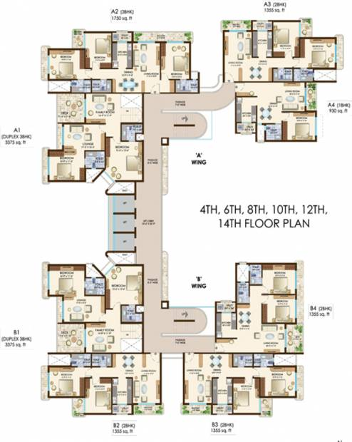 Images for Cluster Plan of Maharaja The Courtyard