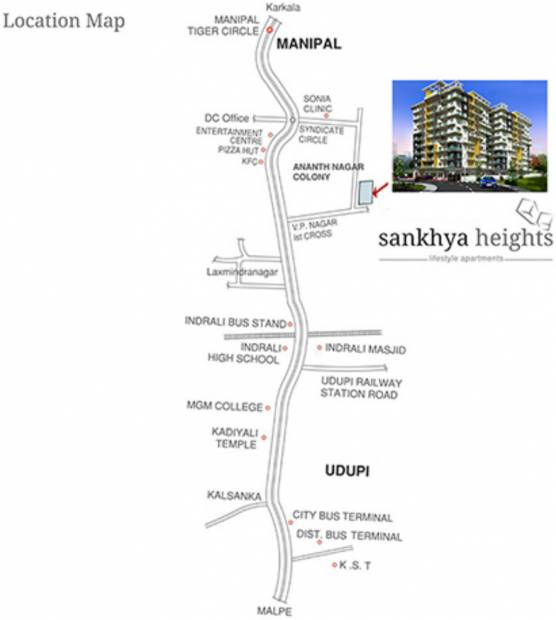 Images for Location Plan of Sankhya Heights