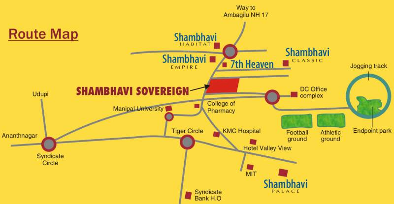 Images for Location Plan of Shambhavi Sovereign