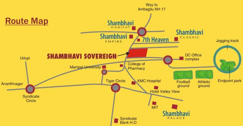 sovereign Images for Location Plan of Shambhavi Sovereign