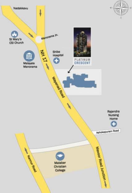 Images for Location Plan of Crescent Platinum