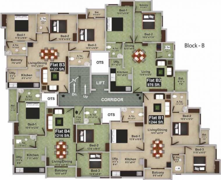 Images for Cluster Plan of Saradeuz Haven