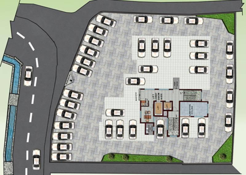 crescent-builders iris  Iris Cluster Plan for Ground Floor