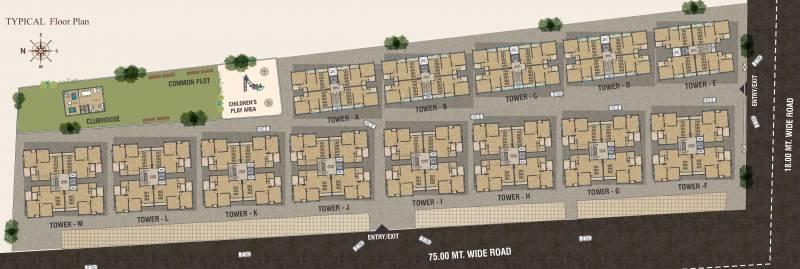 Images for Cluster Plan of Ananta Safal