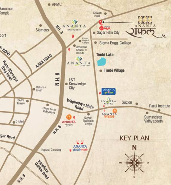 Images for Location Plan of Ananta Safal