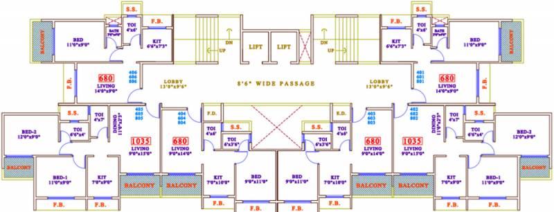 Images for Cluster Plan of Neelkanth Pride