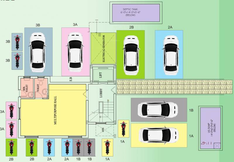 Images for Cluster Plan of Roohi Constructions Sathyam