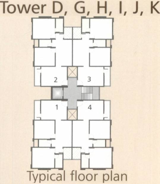 Images for Cluster Plan of Mangalam Maa Residency
