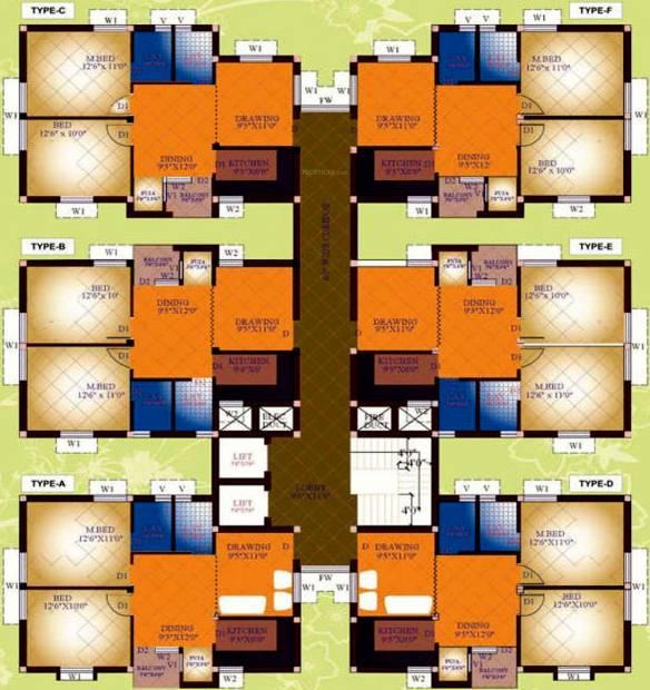 Images for Cluster Plan of Prabhujee Enclave