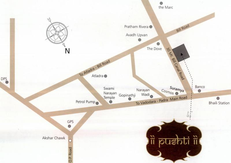 Images for Location Plan of Aditya Pushti 2
