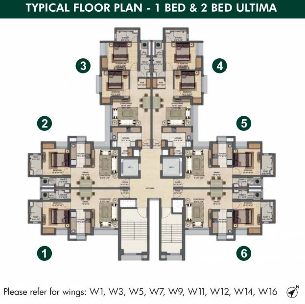 Images for Cluster Plan of Lodha Codename Crown Jewel