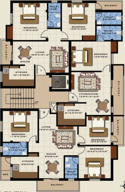 athulya Images for Cluster Plan of Piriyaa Athulya